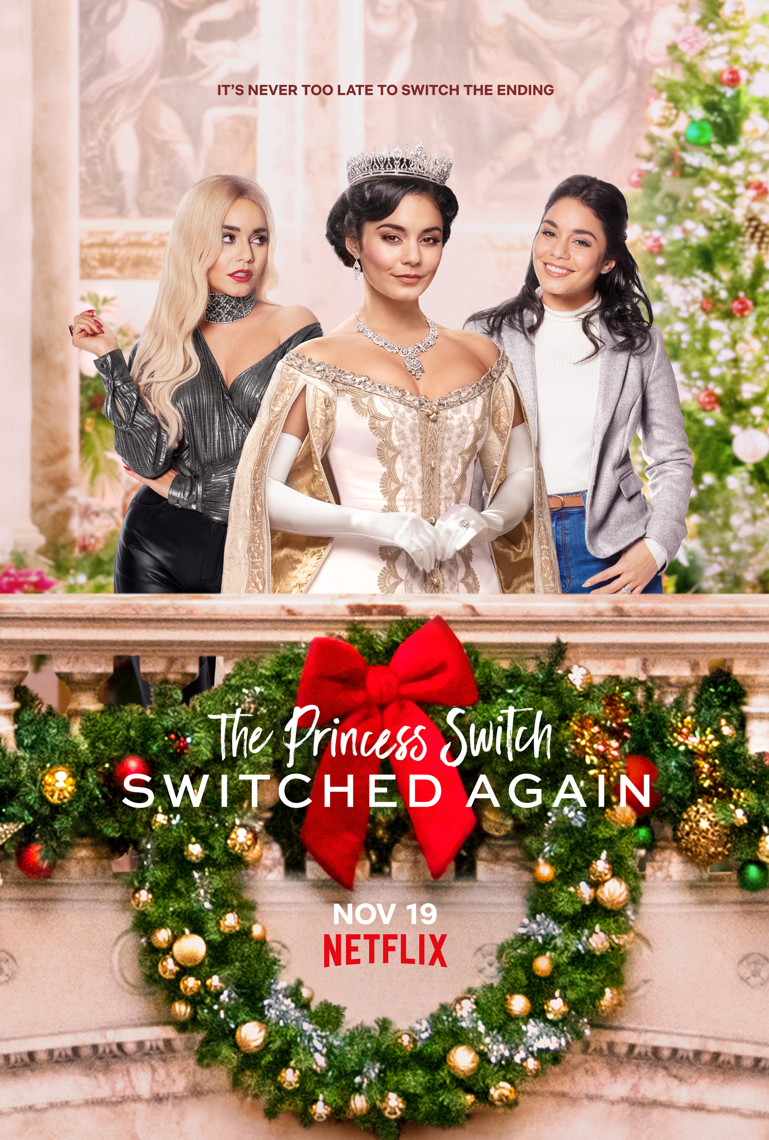 The Princess Switch: Switched Again 2020 [DVD Custom] [Latino] Premier FTP
