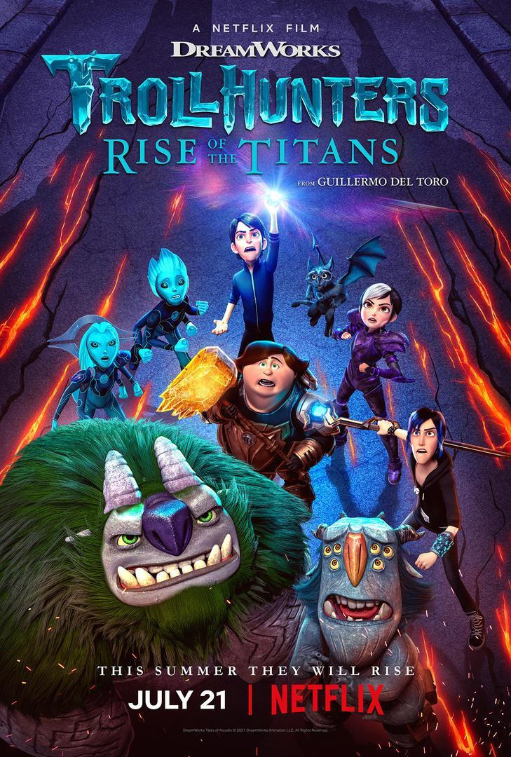 Trollhunters: Rise of the Titans 2021 [DVD Custom] [Latino] PremierFTP